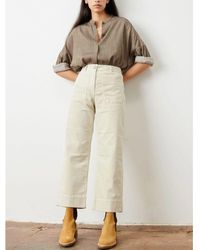 Sessun Hudson Cord Trouser - Natural