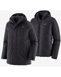Patagonia Men's Frozen Range 3-in-1 Parka Black
