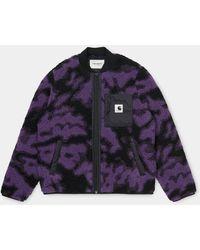 Carhartt Purple Blur Camo Janet Liner Women Jacket