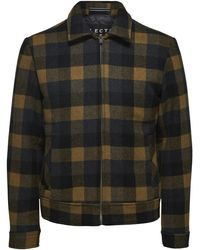 SELECTED Lincoln Wool Jacket - Multicolore