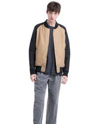 Herschel Supply Co. Khaki & Black Varsity Jacket - Multicolour
