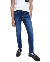 Calvin Klein Ckj 016 Skinny Jeans 1 Bj Azul Oscuro