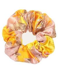 Stine Goya Scrunchie Distortion Organza - Orange