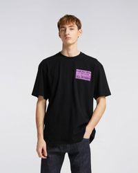 Edwin Pro Healer T-shirt Black Garment Washed