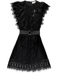 Essentiel Antwerp Https://www.trouva.com/it/products/essentiel-antwerp-vamos-lace-dress - Nero