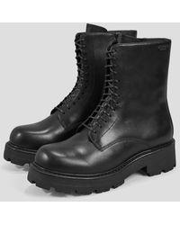 Vagabond Schwarze Leder Cosmo 2.0 Stiefel