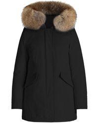 Woolrich Parka Arctic da donna nero WWCPS2762-UT0001-BLK Fur