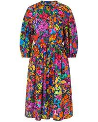 Stine Goya Vestido impresión todo lo más - Multicolor