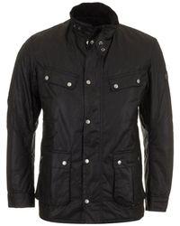 Barbour Duke Wax Jacket - Noir