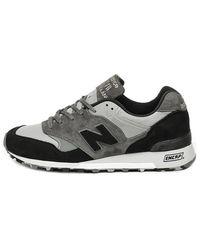 New Balance Sneaker grigia mimetica Made in England M577SOP - Grigio