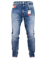 Tommy Hilfiger 1988 Moderne Tapered Mid Jeans - Blau