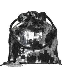 Becksöndergaard Silver And Black Una Tora Bag