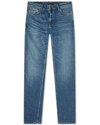 Nudie Jeans Skinny Lin Jean Blu scuro Navy