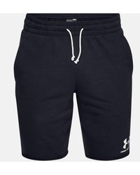 Under Armour Sportstyle Terry Men's Shorts - Blue