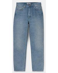 Carhartt Pantalon et jean bleu à la cheville