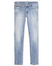 Tommy Hilfiger Jeans Scanton Slim Jeans Corry Azzurro Stretch - Blu