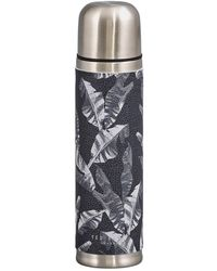 Ted Baker Ted's World Stainless Steel Flask - Gray