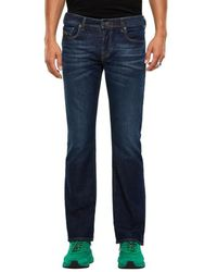 DIESEL Zatiny 9 Hn Bootcut Jeans Dunkelblau