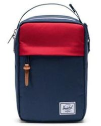 Herschel Supply Co. Chapter Connect Navy Red - Rouge