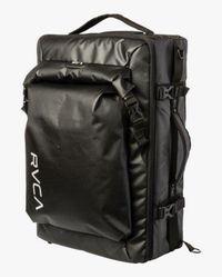 RVCA Zak Noyle Camera Duffel Bag Black - Multicolour