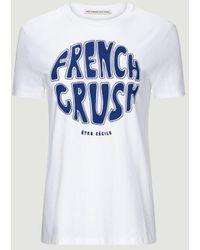 Être Cécile French Crush T-Shirt - Weiß