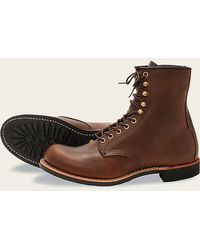 Red Wing 2943 Harvester Amber Boots - Brown