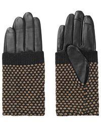 Becksöndergaard Riga Beige Gloves - Multicolor