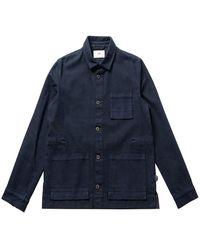 Folk - Https://www.trouva.com/it/products/-navy-plinth-jacket-1 - Lyst