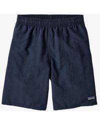 Patagonia Navy Boys Baggies Shorts New - Blue