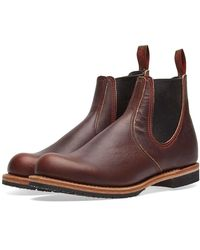 Red Wing Red Wing 2917 Chelsea Rancher Boot Briar Oil Slick - Marrone