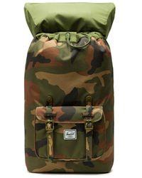 Herschel Supply Co. Zaino Little America Woodland Camo 10014-01832 - Verde