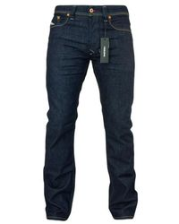 DIESEL Https://www.trouva.com/it/products/-larkee-084-hn-straight-fit-jeans-dark-blue