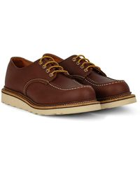 Red Wing Https://www.trouva.com/it/products/red-wing-shoes-classic-oxford-shoe-mahogony - Marrone