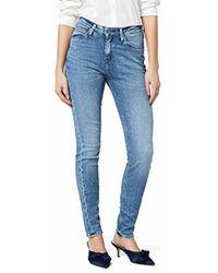 Lee Jeans Bleu acier Lee Scarlett High Skinny Jeans Cool Daze L626IQXV