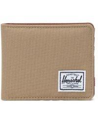 Herschel Supply Co. Portefeuille Roy Kelp Et Selle Brun - Marron