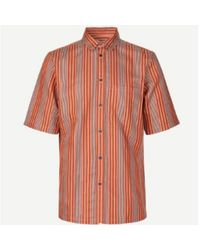 Samsøe & Samsøe S Taro Golden Ochre Shirt - Multicolour