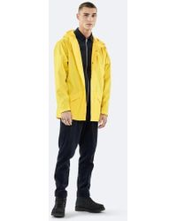Rains - Impermeabile unisex giallo - Lyst