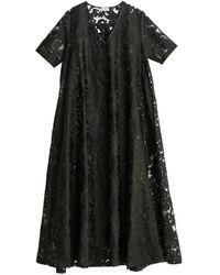 By Malene Birger Https://www.trouva.com/it/products/by-malene-birger-black-colletia-maxi-dress - Nero