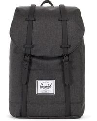 Herschel Supply Co. - Retreat Backpack Black Black - Lyst