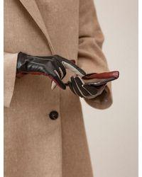 Becksöndergaard Anahita Leather Glove Black - Multicolor