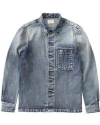Nudie Jeans - Worn Authentic Sten Denim Jacket - Lyst