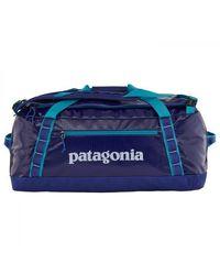 Patagonia Borsone Black Hole 55 L Blu cobalto