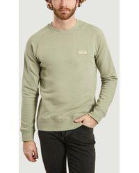 Nudie Jeans Samuel Logo Sweatshirt - Green