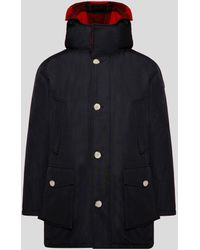 Woolrich Reversible Wool Parka New Black