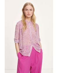 Samsøe & Samsøe Purple Elmy Shirt - Pink
