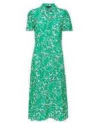 SELECTED Printed Dress Green