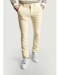 Nudie Jeans Adam Slim Corduroy Trousers - Multicolour
