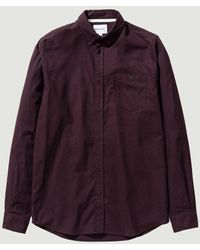 Norse Projects Flanelle Brossée Anton - Marron