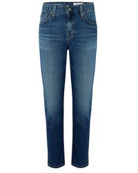 AG Jeans Ex Boyfriend Slim Jeans 10 Jahre Allianz - Blau