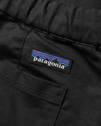 Patagonia Pantaloni da viaggio in twill Ms INBK neri - Nero